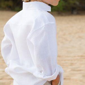 GUCCI boys white dress shirt size 12